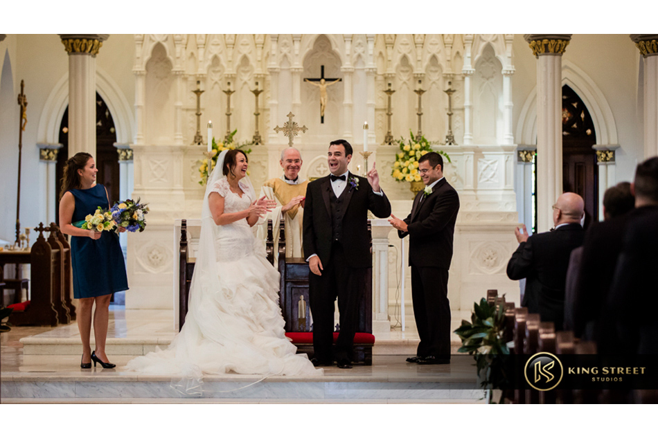 wedding pictures of charleston weddings, cathedral of saint john the baptist by charleston wedding photographers king street studios