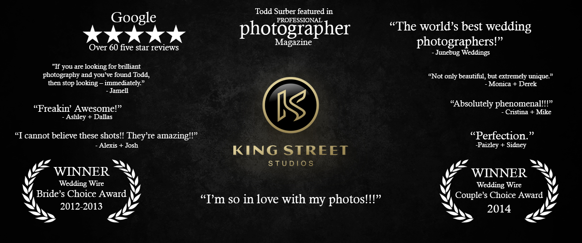 charleston wedding photographers, top charleston photographers, best charleston photographers king street studios
