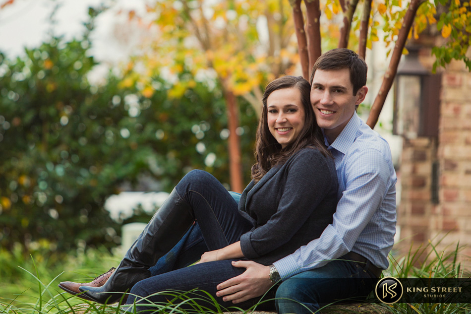charleston engagement portraits taken in downtown charleston by charleston wedding photographers king street studios