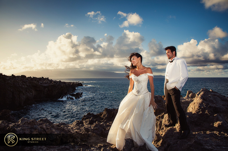 Breathtaking Day After Wedding Photos In Maui King Street Studios