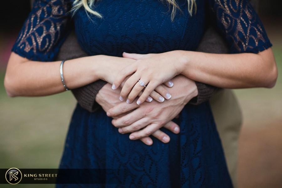 engagement pictures by charleston wedding photographers king street studios  (804)