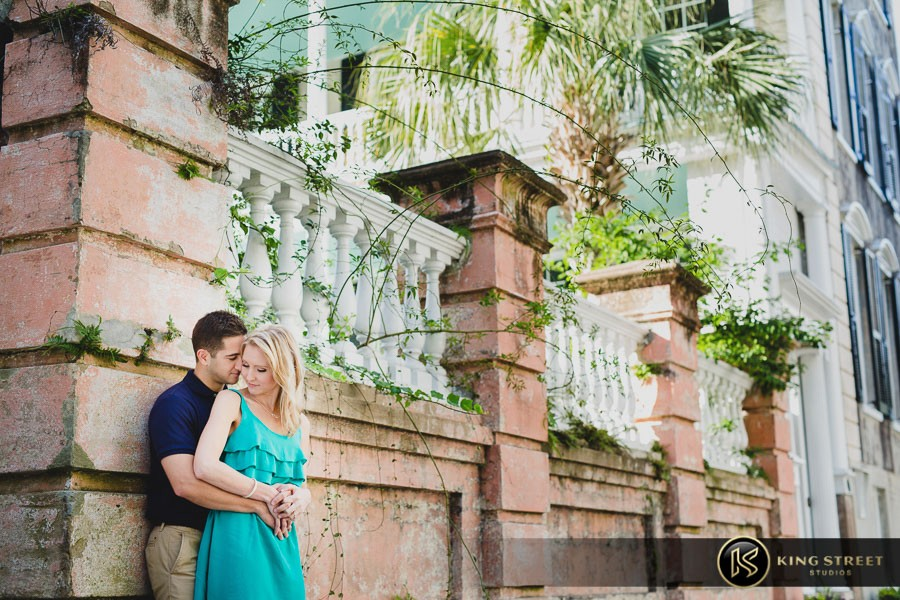 engagement pictures by charleston wedding photographers king street studios  (822)