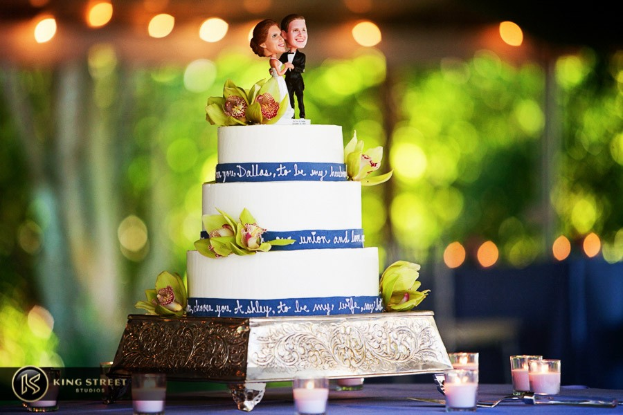 wedding cake pictures by charleston wedding photographers king street studios