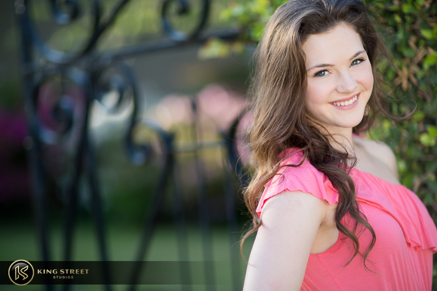 senior pictures by charleston senior portrait photographers king street studios