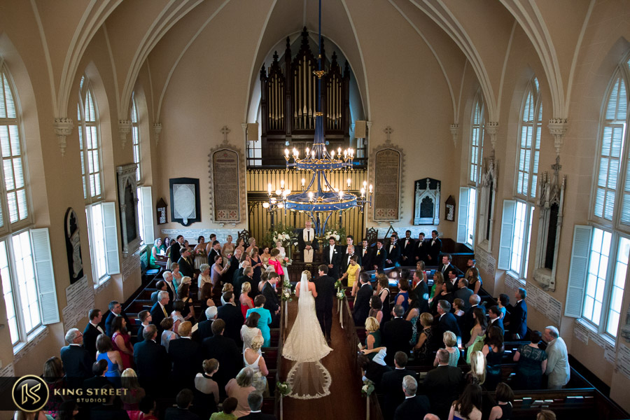 wedding pictures of bergen + philipe ceremony by charleston wedding photographers king street studios