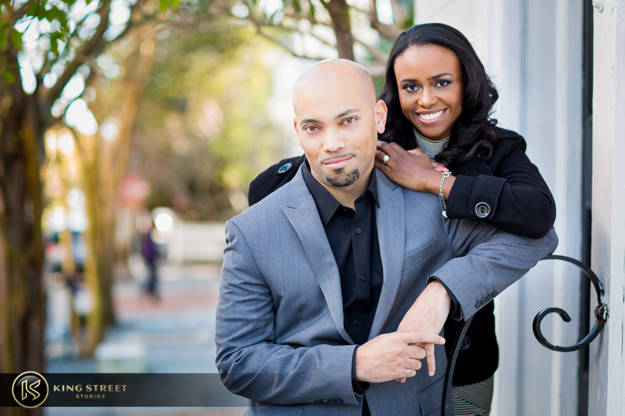 downtown charleston engagement pictures by charleston photographers king street studios-10