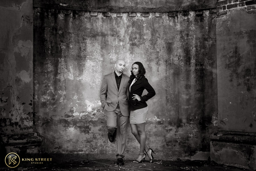 downtown charleston engagement pictures by charleston photographers king street studios-9