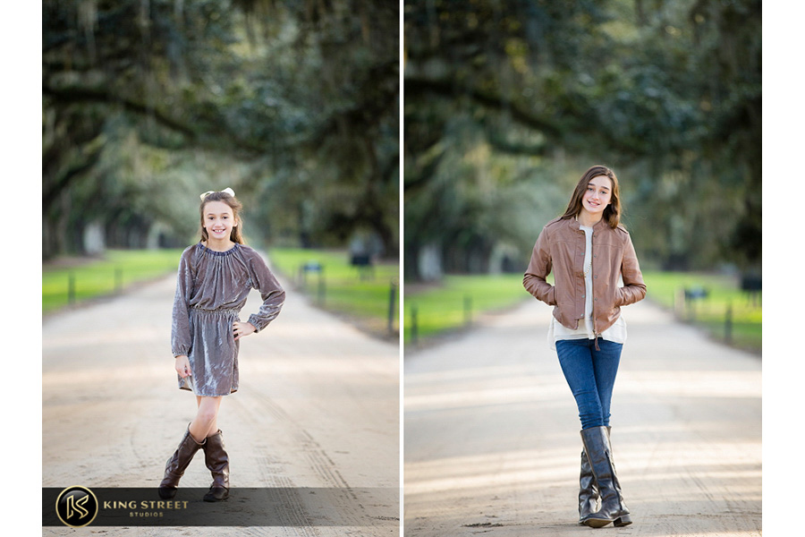 family pictures at boone hall plantation by top family portrait photographers king street studios (3)