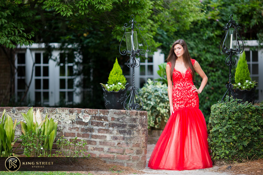 senior pictures at boone hall plantation by charleston senior portrait photographers king street studios (24)